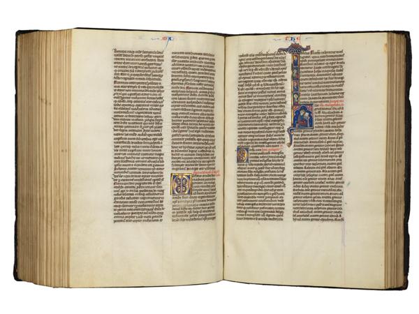 medieval illuminated bible